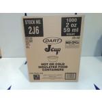 2oz Cups insulated - Dart 2j6 (1000)