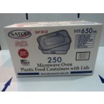 C650 Plastic Food Containers & Lids