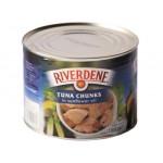 Tuna Chunks in oil BIG- Riverdene (6x1.8kg) case